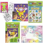 Birthday Party Games Pin The Tail Donkey Activity Colouring Book Boys Girls