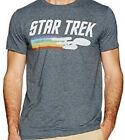 Men's Star Trek T-Shirt, Charcoal Heather, Size Small