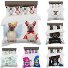 3D Digital Printing Print Dogs Themed Duvet Covers With Pillowcases