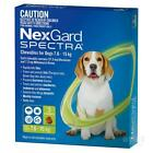 NEW NexGard Spectra Medium Dog 7.6-15kg