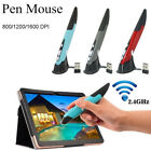 2.4GHz USB Optical Wireless Pen Air Mouse Laser Pointer Adjustable for PC Laptop