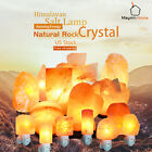 crystal salt - Large Himalayan Natural Rock Crystal Salt Lamp Air Purifier Night Light Tower