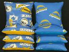 Set of 8 Los Angeles Chargers Cornhole Bags ***FREE SHIPPING*** $38.99 USD on eBay