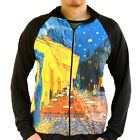 Vincent Van Gogh Cafe Night Sweater Track Jacket Shirt Top Mens Fine Art Print