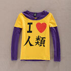 NO GAME NO LIFE Cosplay Costume Sora Long sleeve T-Shirt Summer Unisex T Shirts