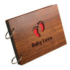 Loose Leaf Baby Wedding Photo Album 60 Pages for 4x6 Prints Memory Scrapbook