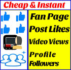 1-000-Facebook-Fan-Page-Real-Safe -- Permanent - Fast фото