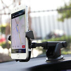 Cell phone mount holder dock suction cup stand GPS cradle car windshield arm