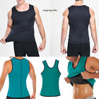2018 Men Gym Vest Neoprene Sauna Ultra thin Sweat Shirt Body Shaperwear Slimming