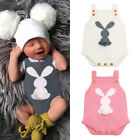 kids easter outfits - Easter USA Kid Baby Boy Girl Bunny Knitting Wool Romper Bodysuit Jumpsuit Outfit