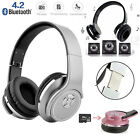 Two-Way Bluetooth Super Bass Speaker & Headphones Headset Combined Stereo Sound