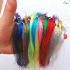 16 Colors Flashabou Holographic Tinsel Crystal Flash Fly Tying Materials