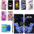 Magnetic Folding Stand PU Leather Case Cover Card Slot For Samsung iPhone Huawei