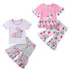 kids easter outfits - My 1st Easter Kids Baby Girl Tops T-shirt Floral Ruffle Leggings Outfits 1-5T US