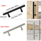 Modern Stainless Steel Wooden Barn Door Handles Pull Closet Door Handle Hardware