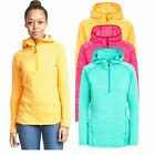 Trespass Romina Women's Hooded Fleece Hiking Jumper - Bright Colours
