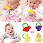 Soft Teeth Stick Teether Chew Toy For Baby Kids Safe Silicone Food Feeder Cute
