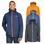 Trespass Hilman II Mens Breathable Hooded Waterproof Jacket Hiking Raincoat