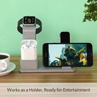Desktop Charging Stand Dock Station Stand Charger For Apple Watch/Iphone AirPods