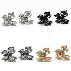 2x Mini Girls Hair Clips Clamp Butterfly Claw Diamante Rhinestone Crystals Prom