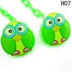 Baby Girls/Boys Dummy Pacifier Soother Nipple Chain Clip Toy Animal Chain Holder