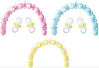64 Piece Baby Girl Boy Shower Birth Balloon Chain Arch Kit Party Decoration