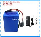 Lithium Battery 12AH 24V Volt Rechargeable Bicycle E Bike Electric Assisted Watt