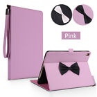 """Cute Bowknot Leather Flip Smart Stand Case Cover For iPad 9.7"""" 5th Gen 2017 Mini"""