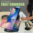 Genuine Qi Samsung Fast Charging Wireless Charger Pad For Galaxy S8 S9 iPhone X