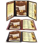 "Non-Toxic Menu Covers Cafe Restaurant Club DIY Fold Book Style 8.5x11 8.5x14"" $57.9 USD on eBay"