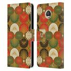HEAD CASE DESIGNS LACQUERWARE LEATHER BOOK WALLET CASE COVER FOR MOTOROLA PHONES