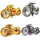 Alarm Clock Motorcycle Shape Creative Unique Retro Home Table Top Decoration New
