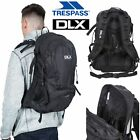 DLX Hiking Rucksack Black Work Backpack Walking Pole 28 Litre Deimos