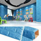 wallpaper for decorating walls - 60*60cm Foam Self-adhesive Wall Stickers DIY Home Decor Wallpaper for Kids Room