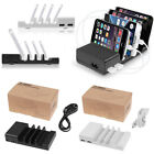 Fast Charging Desktop Station 4-Port USB HUB Home Wall Charger Holder 5V 2.1A