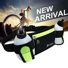 Sport Hiking Packs Waist Bag Running Jogging Pouch Belt with 2 BPA Water Bottles