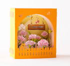 Mother's Day Gift 3D Greeting Card I Love Mom Pop Up Birthday Thank You Card US