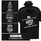 a small table - KAYLEY T-shirt or Hoodie - Keep Calm, Periodic Table, It's a thing, Fix