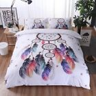 2018 Duvet Quilt Cover Bed Bedding Set Single Double Queen King Size Pillow Case