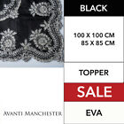 Eva Topper Black TABLE TOPPER BRAND NEW