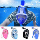 Diving Breath Surface Snorkel 180° Full Face Mask Swimming For Small Ants GoPro