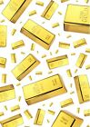 Solid Gold Bullion Bars Wallpaper A4 Sized Edible Wafer Paper / Icing Sheet