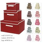 Cube With Lid Folding Large Baskets Vintage Solution Box
