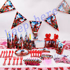 Miraculous Ladybug Birthday Party Supplies Favor Tableware Kids Decor Napkins