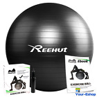 Core Exercise Ball With Pump 65 55 CM Anti Burst Stability Workout Yoga Balance