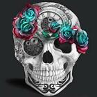 Diamond 5D DIY Painting Skull And Rose Pattern Mosaic Wall High Quality Arts New
