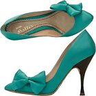 John Galliano court shoes satin bow, bow satin pumps
