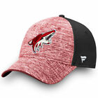 Arizona Coyotes Fanatics Branded Made2Move Speed Flex Hat Heather Red