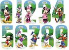 Wheelie Bin Number Adhesive Sticker High Visible Mickey Club House Home Dustbins