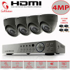 CCTV Camera 4MP 1440P 1080P HDD HDMI 8CH 4CH DVR Outdoor IR Home Security System